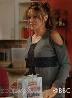 SoapStyle.co.uk - EastEnders - Kirsty's Cross Jumper - 17th October