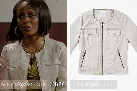 SoapStyle.co.uk - EastEnders - Denise's Leather Jacket - 23rd July - Style Match