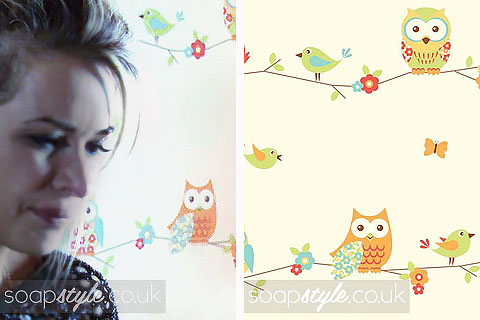 Max & Kirsty's Owl Nursery Wallpaper