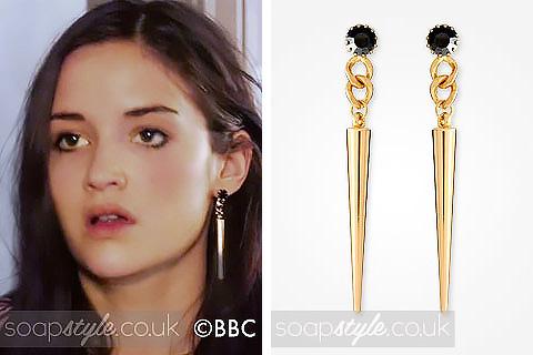 SoapStyle - EastEnders - Lauren's Spike Earrings - 24th June - Where From