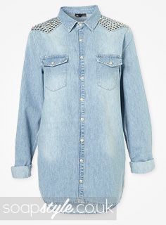 Ash Kane's Studded Denim Shirt