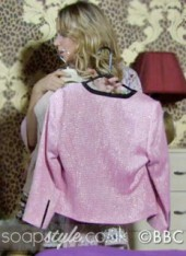 SoapStyle.co.uk - EastEnders - Roxy's Pink Blazer Jacket Hen Night - 22nd November - Where From