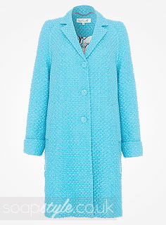 SoapStyle.co.uk - EastEnders - Linda Carter's Blue Coat - 1st January - Where From