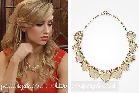 SoapStyle.co.uk - Coronation Street - Eva's Heart Necklace - Where From