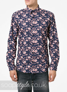SoapStyle.co.uk - EastEnders - Alfie's Blue Floral Shirt - Where From