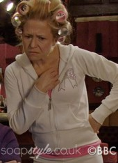 SoapStyle.co.uk - EastEnders - Linda's Sparkly Diamante Bow Tracksuit