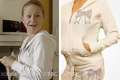 SoapStyle.co.uk - EastEnders - Linda's Sparkly Bow Tracksuit