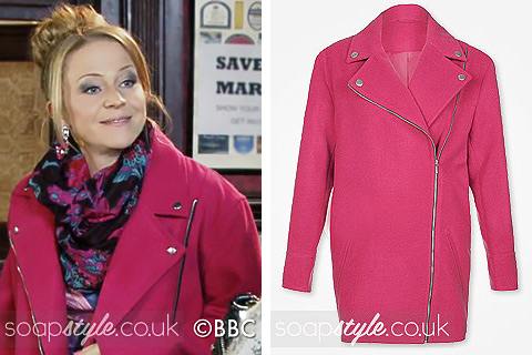 SoapStyle.co.uk - EastEnders - Linda Carter's Pink Coat - Where From
