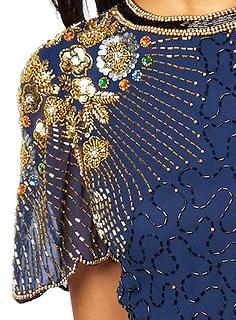 SoapStyle.co.uk - Natalie Cassidy Blue Dress - Close Up