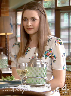 SoapStyle.co.uk - Hollyoaks - Sienna's Floral Dress 21st May - On Screen