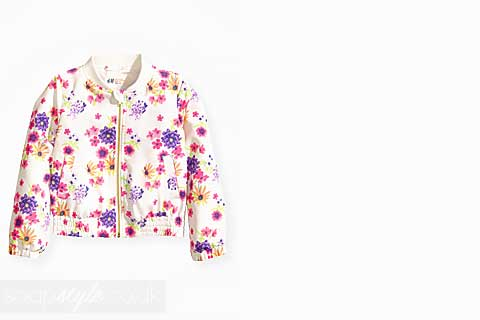 Janet Mitchell's Floral Print Jacket