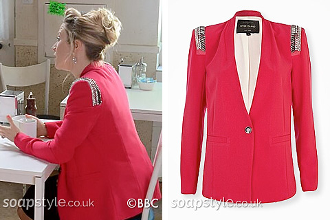 SoapStyle.co.uk - EastEnders - Linda's Pink Blazer - Where From