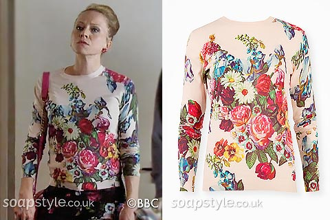SoapStyle.co.uk - EastEnders - Linda's Floral Jumper - Where From