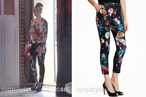 SoapStyle.co.uk – EastEnders – Linda's Floral Trousers - Where From