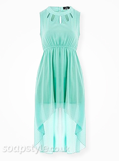 Sienna's Mint Green Dress