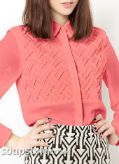 SoapStyle.co.uk – Hollyoaks – Sienna's Pink Blouse – July – Where From