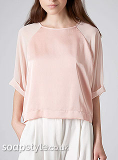SoapStyle.co.uk - Coronation Street - Carla's Pink Satin Top - Where From