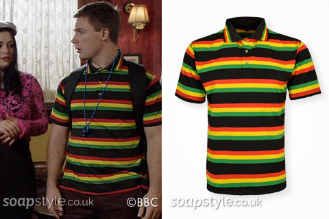 SoapStyle.co.uk - Lee's Carnival Jamaican Polo Shirt - Style Match
