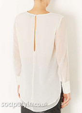 SoapStyle.co.uk - Corrie - Carla's White Layered Top - Back