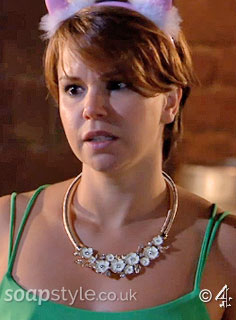 SoapStyle.co.uk - Hollyoaks - Nancy's Flower Necklace - On Screen
