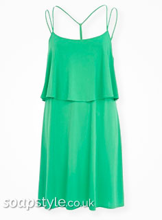 SoapStyle.co.uk - Hollyoaks - Nancy's Green Dress - Where From