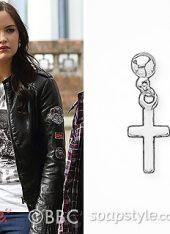 SoapStyle.co.uk - EastEnders - Lauren - Sterling Silver Cross Earrings