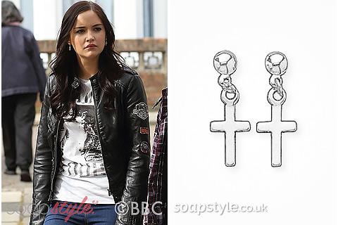 Lauren's Cross Earrings