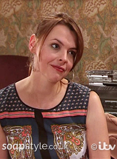 SoapStyle - Corrie - Tracy Scarf Top