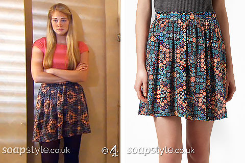 SoapStyle - Hollyoaks - Holly's Pattern Skirt - Where From