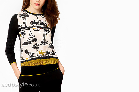 Carla's Horse Print Top - Corrie - SoapStyle
