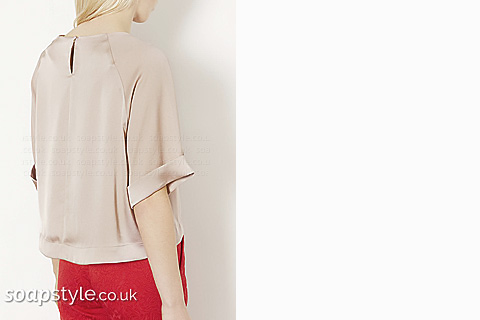 SoapStyle - Corrie - Carla's Satin Top - Where From