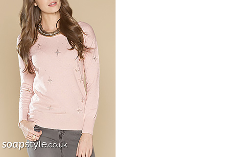 SoapStyle - Corrie - Sally's Pink Star Top