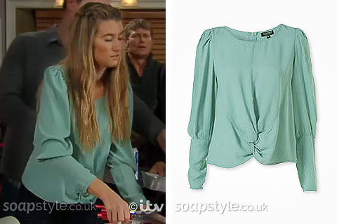 Debbie's Green Blouse - SoapStyle