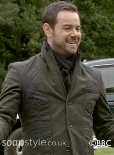 Mick Carter's Green Jacket in EastEnders - SoapStyle