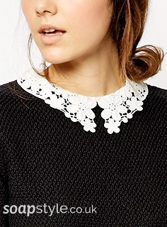Sienna's Lace Collar Jumper