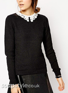 Picture of a match for Sienna's lace collar jumper in Hollyoaks