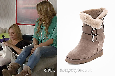 Roxy's Wedge Boots in EastEnders - Where From - SoapStyle
