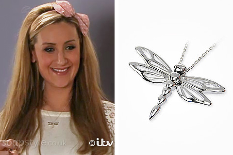 Eva's Dragonfly Necklace - Corrie - SoapStyle