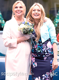 Roxy Mitchell's floral dress in EastEnders - SoapStyle