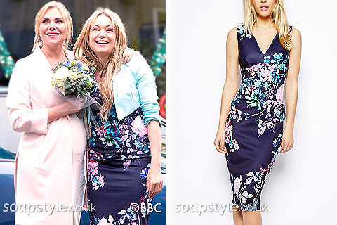 Roxy Mitchell's floral dress in EastEnders - Details - SoapStyle