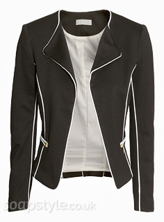 Tracy's Black & White Jacket - Corrie - SoapStyle