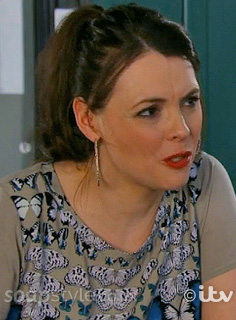 Tracy's Butterfly Top - Corrie - Episode - SoapStyle