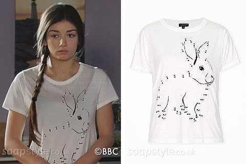 Cindy's Bunny Rabbit Tee - EastEnders - Details - SoapStyle