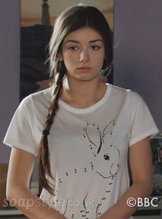 Cindy's Bunny Rabbit Tee - EastEnders - Episode - SoapStyle