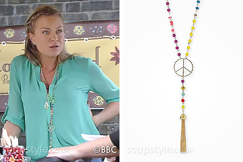 Roxy's Long Beaded Necklace
