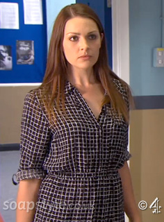 Sienna's Shirt Dress - Hollyoaks - Episode - SoapStyle
