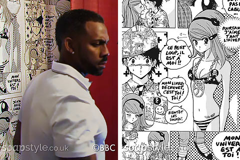 The Albert / Pearl's Manga Cartoon Wallpaper - EastEnders - Details - SoapStyle