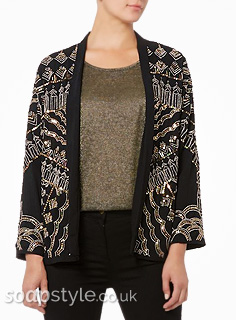 Carla's Sparkly Beaded Jacket in Corrie Live - Details - SoapStyle