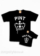Pint & Half Print Tee