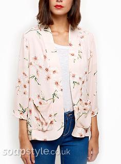 Sarah Platt's Pink Floral Jacket in Coronation Street - Details - SoapStyle
